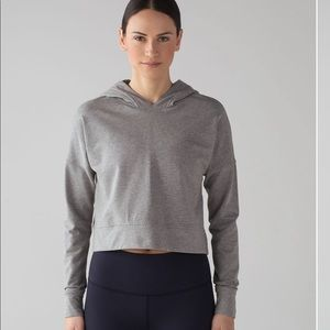 Lululemon Cut Above Pullover: Heathered White